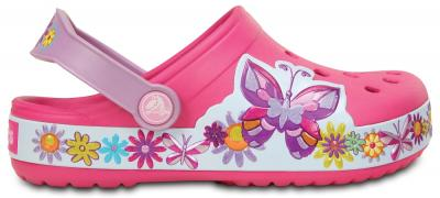 Kids Crocband Butterfly Clog