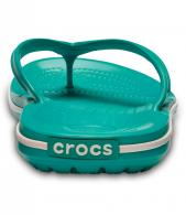 Crocband Flip Tropical Teal / White