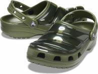 Crocs Classic Neo Puff Clog Army Green