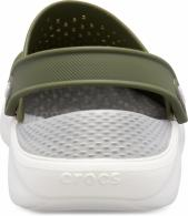 CROCS LiteRide Clog army green/white