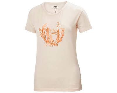 HELLY HANSEN W SKOG GRAPHIC T-SHIRT