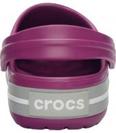 Crocband Viola / Light Grey