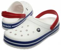 Crocband White / Blue Jean