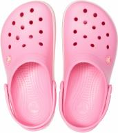Crocband Pink Lemonade / White